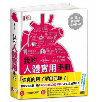 我的人體實用手冊:看圖就能懂的生命奧祕( HOW THE BODY WORKS)封面圖