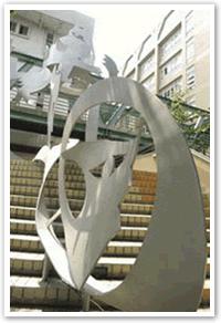 校園公共藝術情境示意圖