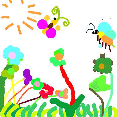 美麗的草地