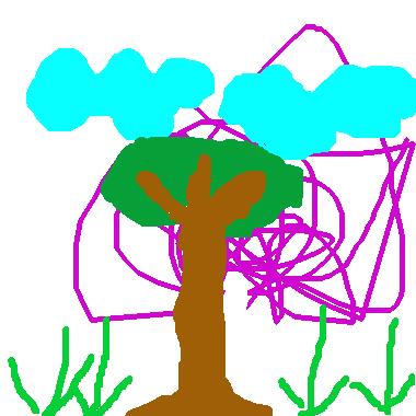 作品:簡單風景畫