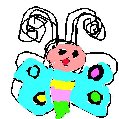 小可愛蝴蝶