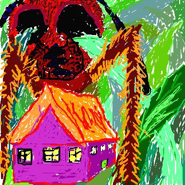 比草和螞蟻還小的家