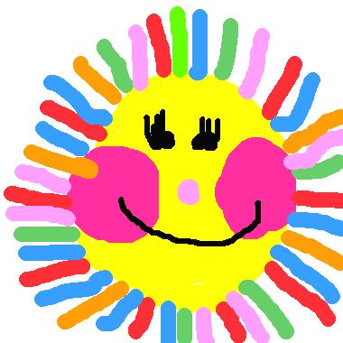 快樂的太陽