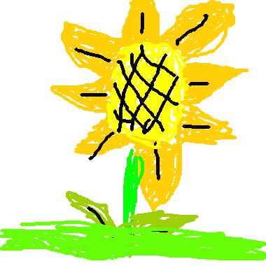 作品:美麗的小花