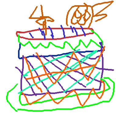 4歲生日蛋糕