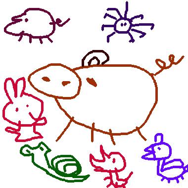 繪本裡的動物