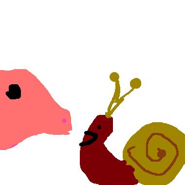 小蜗牛和猪