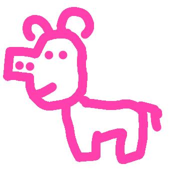 塗鴉:粉紅豬