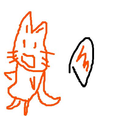 塗鴉:狐狸孵蛋