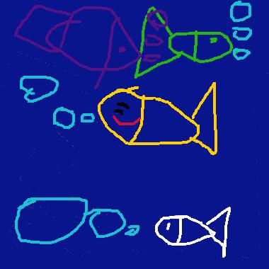 作品:海洋生物大探險