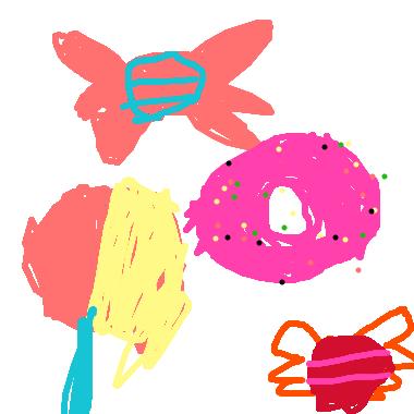 作品:糖果夢