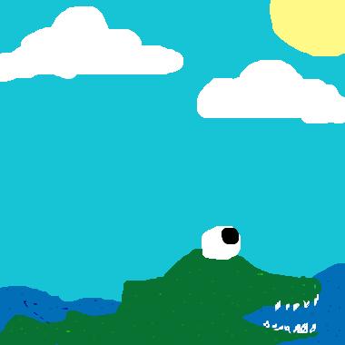 作品:鱷魚