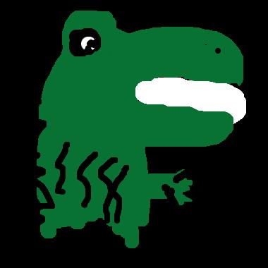 作品:鱷鱷