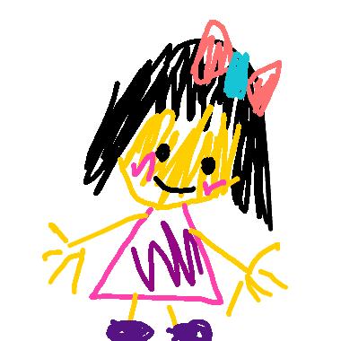 作品:小女孩