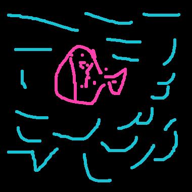 粉紅色的魚