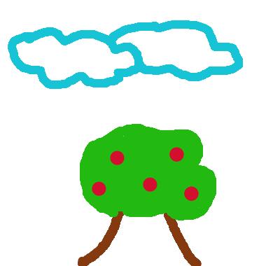 一棵蘋果樹