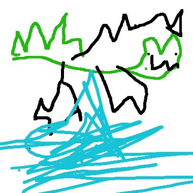 鱷魚爪子尖