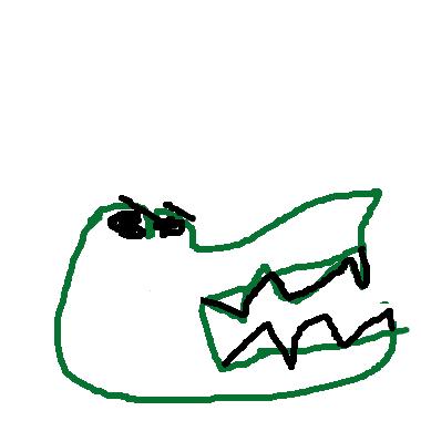 大大的牙齒