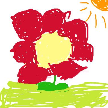 可愛的小花兒