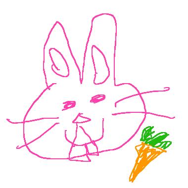 作品:兔子的蘿蔔