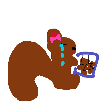 沒有家的小松鼠