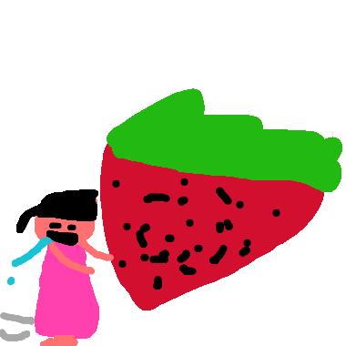 草莓真好吃