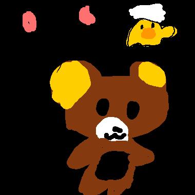 作品:輕鬆小熊