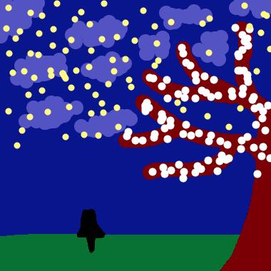 作品:夜空