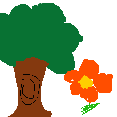 作品:Tree and 一