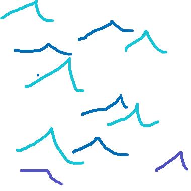 作品:海浪