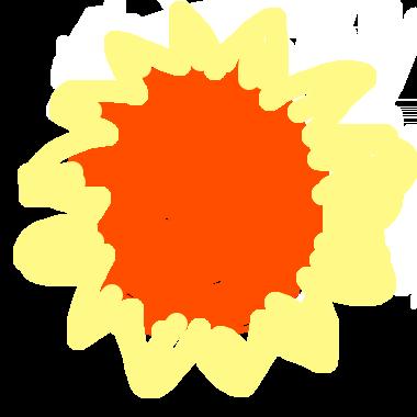 作品:火紅的太陽