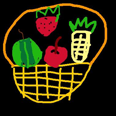 作品:果籃