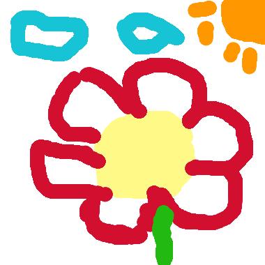 作品:花朵