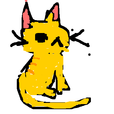 坐著的貓咪